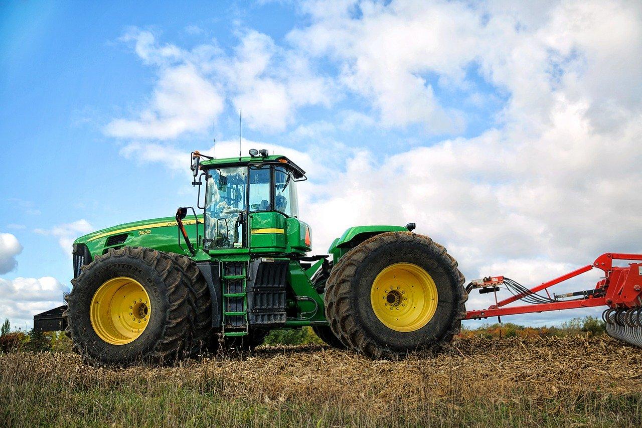 Tracteur moderne